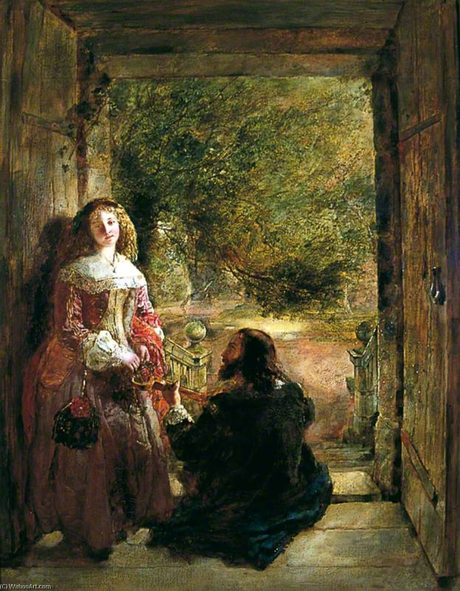 Wikioo.org - The Encyclopedia of Fine Arts - Painting, Artwork by Daniel Pasmore I - Doorway, Haddon Hall