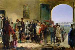 The Mission of Mercy Florence Nightingale receiving the Wounded at Scutari