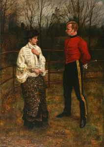 A Woman with a Soldier