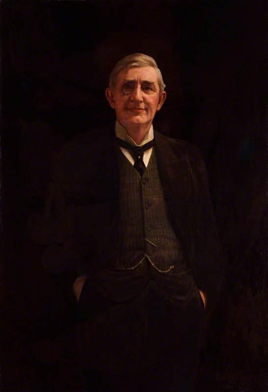Wikioo.org - The Encyclopedia of Fine Arts - Painting, Artwork by Frederick Dudley Walenn - (Walter) Brandon Thomas