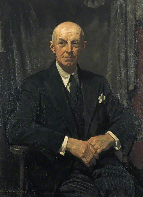 Wikioo.org - The Encyclopedia of Fine Arts - Painting, Artwork by David Alison - Basil Gage Catterns (1886–1969)