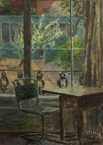 The View from the Window, Back Garden, Adelaide Road, London