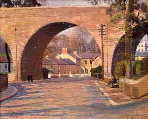Viaduct and the Green, Tenby