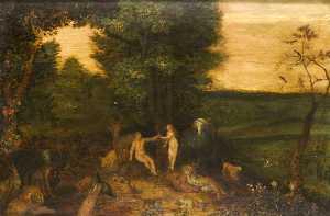 The Garden of Eden (after Brueghel)