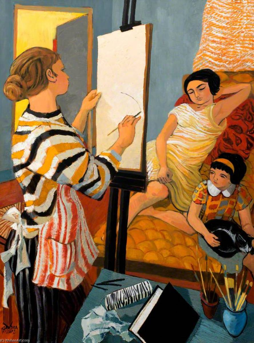 Wikioo.org - The Encyclopedia of Fine Arts - Painting, Artwork by Claudia Williams - Drawing