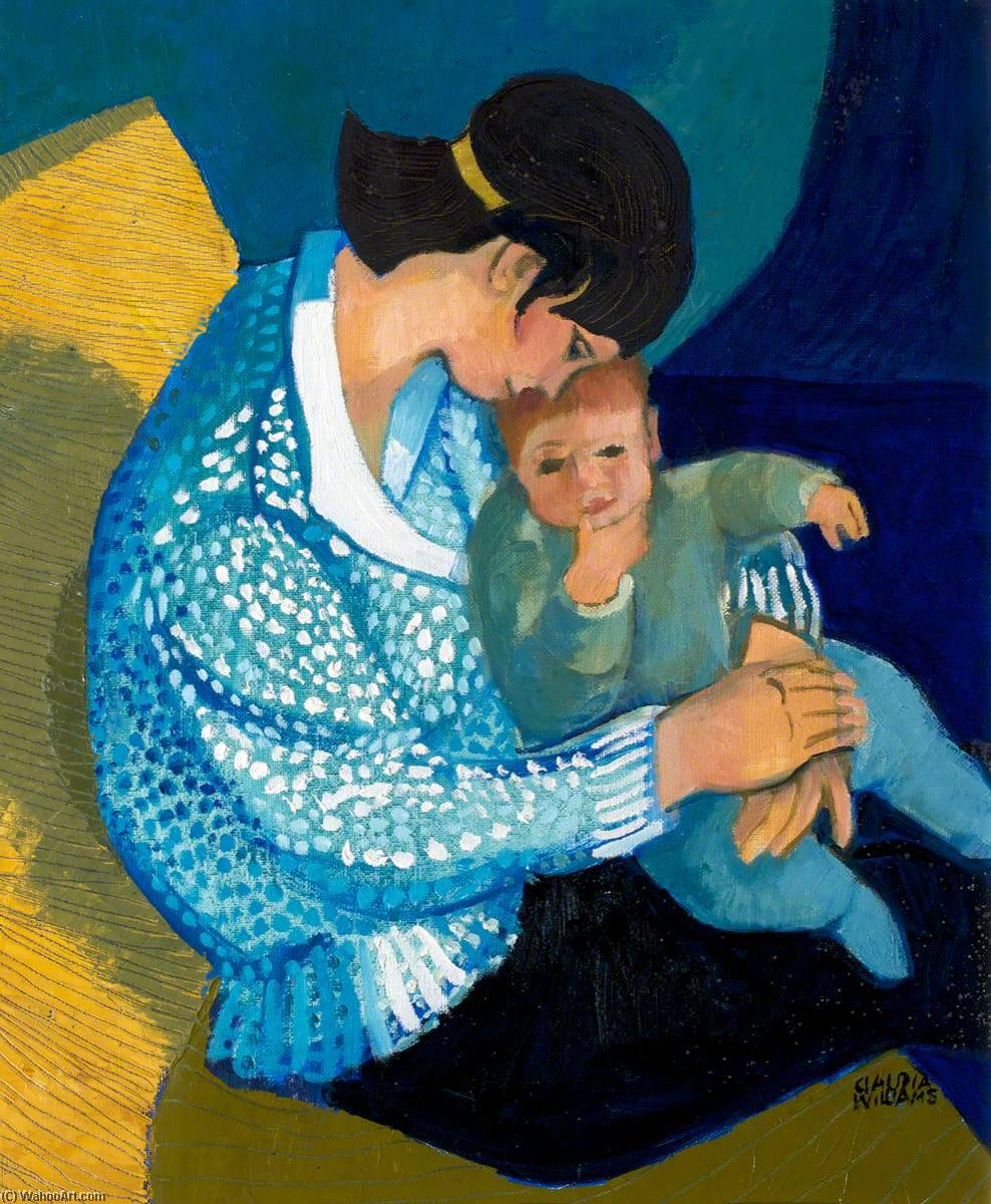 Wikioo.org - The Encyclopedia of Fine Arts - Painting, Artwork by Claudia Williams - Mother and Child