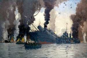 Sinking of the London, Midland and Scottish Railway Steamer SS 'Scotia' off Dunkirk (The LMS at War Series)