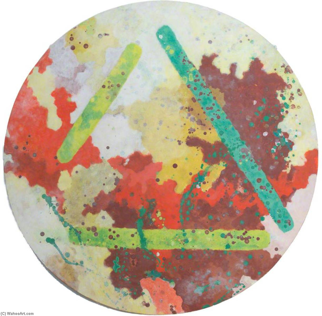 Wikioo.org - The Encyclopedia of Fine Arts - Painting, Artwork by Liza Gough Daniels - Forgotten Beauty Spots