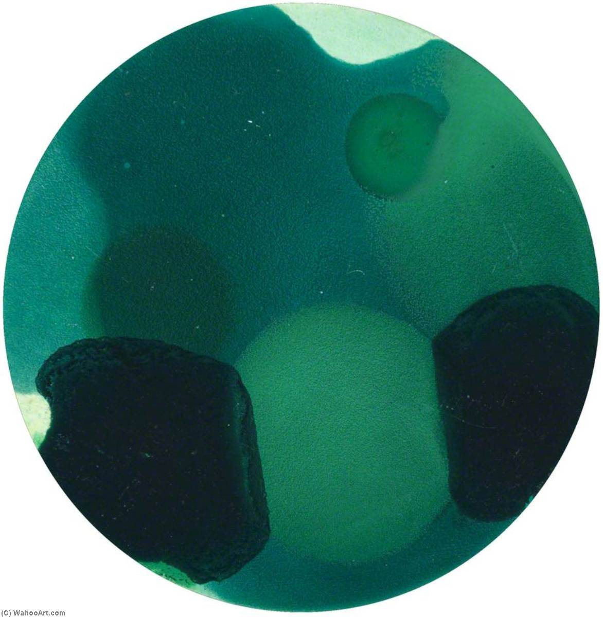 Wikioo.org - The Encyclopedia of Fine Arts - Painting, Artwork by Liza Gough Daniels - Different Shades of Green (2 of 6)