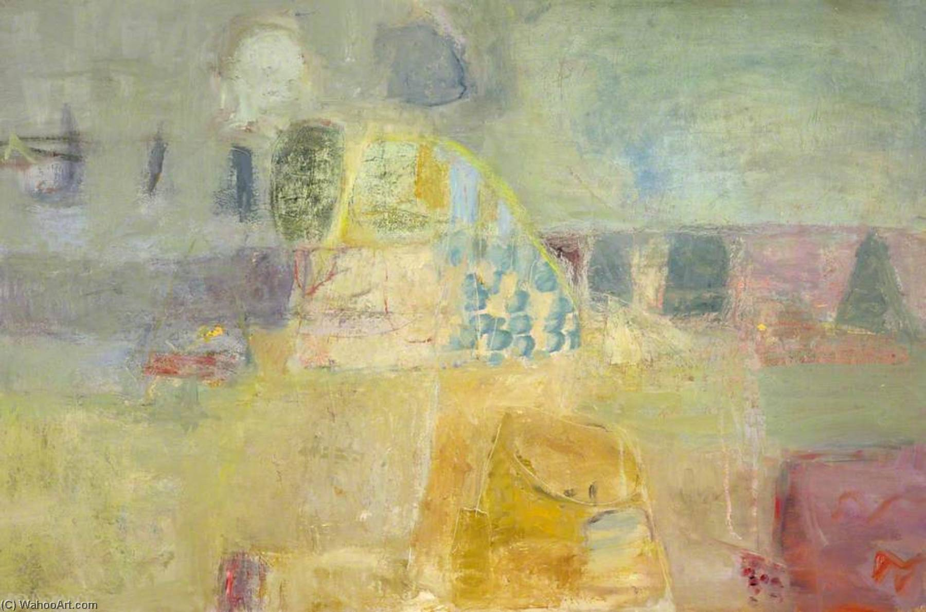Wikioo.org - The Encyclopedia of Fine Arts - Painting, Artwork by Margaret Gregory - Airs Light Inclinable to Calm
