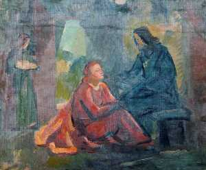 Christ in the House of Martha and Mary
