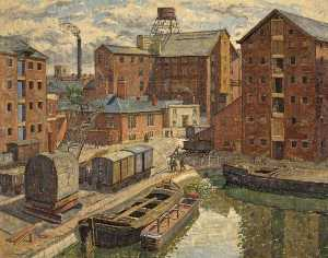 View of Gloucester Docks