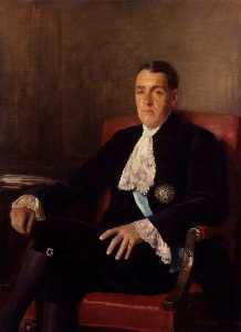 Frederick Edwin Smith, 1st Earl of Birkenhead (replica of an original of c.1922 by the artist)