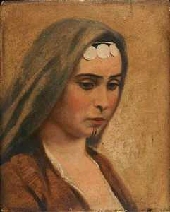 Head of an Arab Girl, (painting)