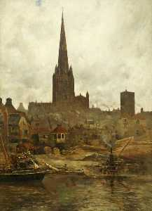 The Church of St Mary Redcliffe