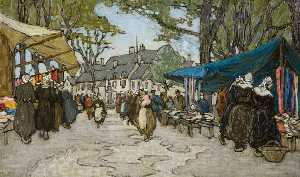 A Market in France