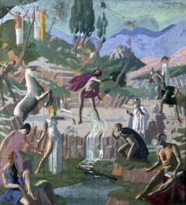 The Contest between Athena and Poseidon for the Patronage of Athens