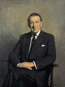 George Rowley Stanley Baring (1918–1991), Earl of Cromer, MBE, Governor of the Bank of England