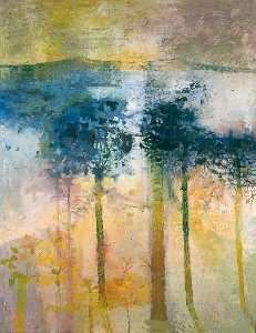 Trees against Pale Sunlight