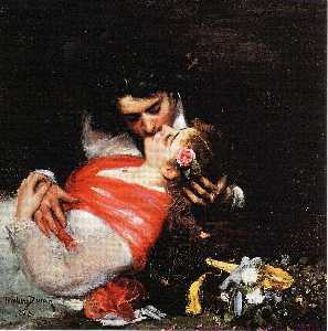 Le Baiser (also known as The Kiss)