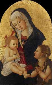 Virgin and Child with a Goldfinch and the Infant St John