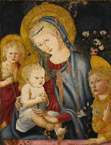 Madonna and Child with the Infant St John the Baptist and an Angel