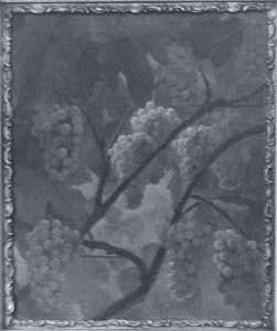 Still Life Grapes, (painting)