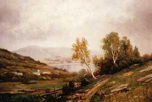 Seneca Lake, New York, (painting)