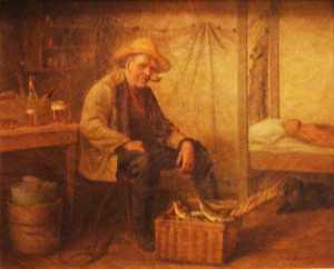 George Brooks, (painting)