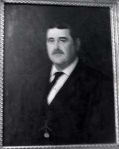 Portrait of John R. Murphy, (painting)