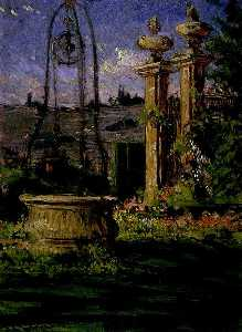 In the Gardens of the Villa Palmieri