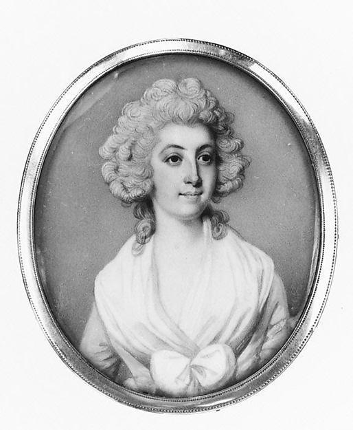 WikiOO.org - Encyclopedia of Fine Arts - Lukisan, Artwork Richard Crosse - Portrait of a Woman