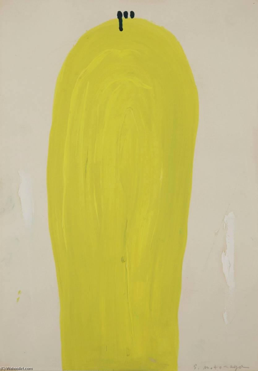 Wikioo.org - The Encyclopedia of Fine Arts - Painting, Artwork by Sadamasa Motonaga - Abstract