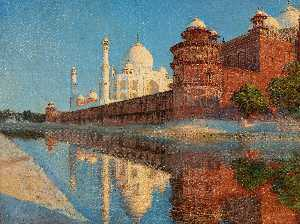 The Taj Mahal, Evening