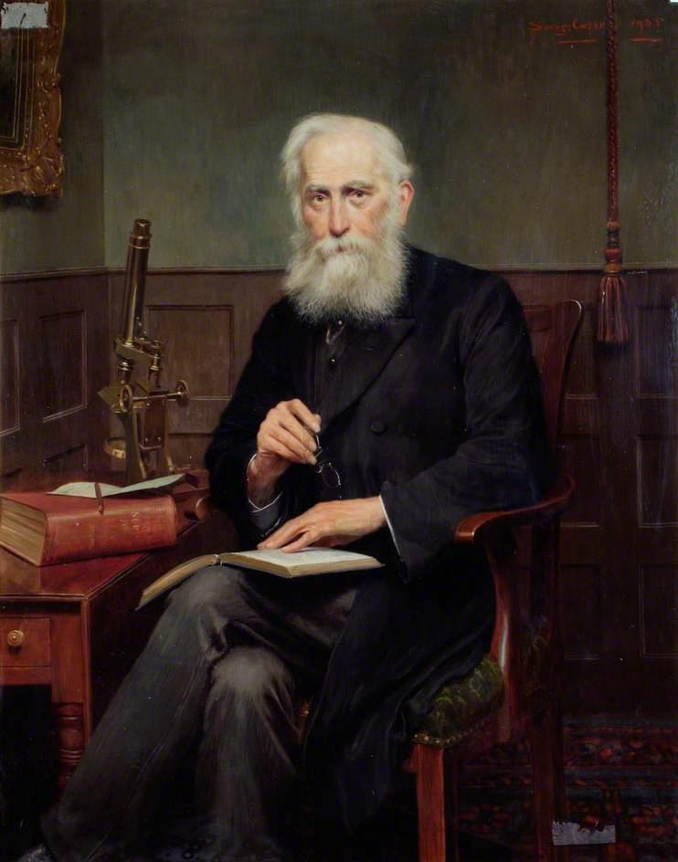 Wikioo.org - The Encyclopedia of Fine Arts - Painting, Artwork by William Savage Cooper - Dr William Heath Strange