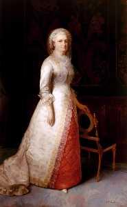 Martha Dandridge Curtis Washington (Mrs. George Washington)