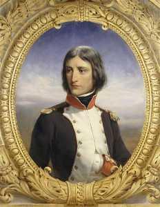 Napoléon Bonaparte, lieutenant colonel au 1er bataillon de la Corse en 1792 (1769 1821)