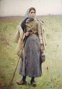La Fille du Berger, (painting)