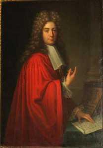 PORTRAIT DE RALLIER DU BATY, MAIRE DE RENNES DE 1695 A 1734