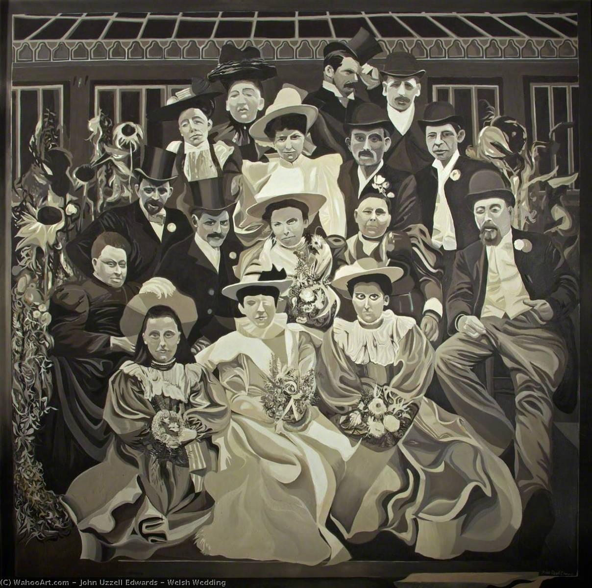 WikiOO.org - دایره المعارف هنرهای زیبا - نقاشی، آثار هنری John Uzzell Edwards - Welsh Wedding