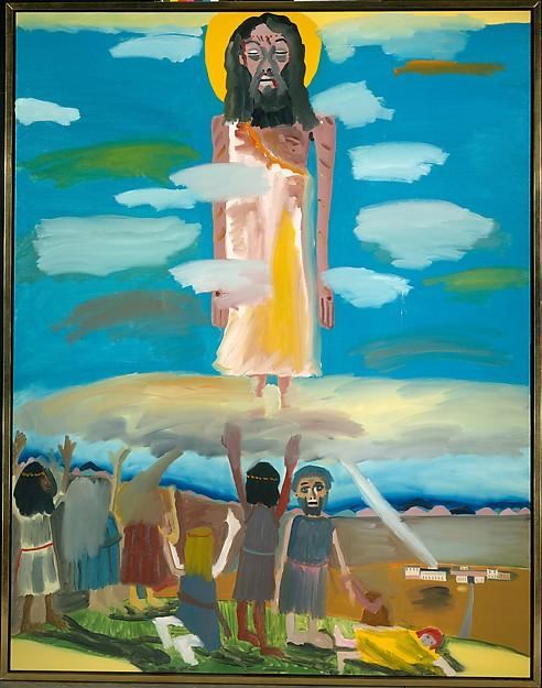Wikioo.org - The Encyclopedia of Fine Arts - Painting, Artwork by Frederick J Brown - The Ascension