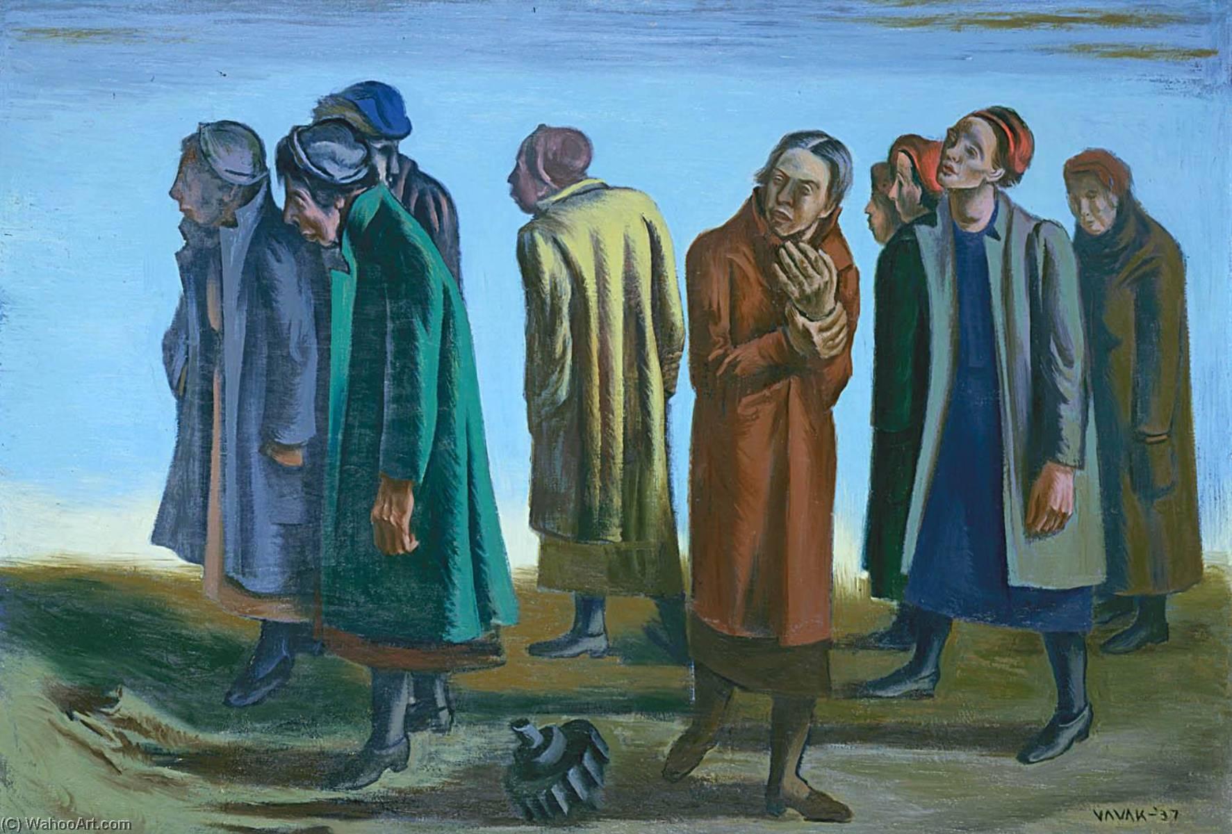 Wikioo.org - The Encyclopedia of Fine Arts - Painting, Artwork by Joseph Vavak - Women of Flint