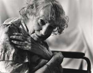 Dorothy Ruckle (Lady with silver bracelet)