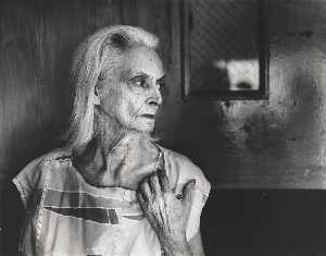 Lucille Smith (Old woman with white hair in profile)