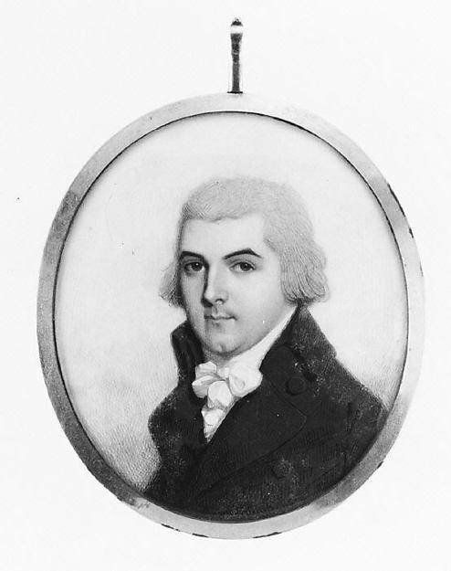 WikiOO.org - Encyclopedia of Fine Arts - Lukisan, Artwork John Barry - Portrait of a Man