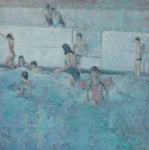 Children on Poolside