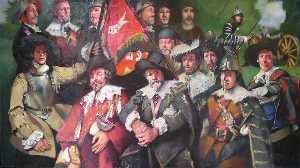 The Founder Members of Sir Bevil Grenville's Regiment, Sealed Knot, a Bye Tryne of Artillery