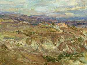 Farmhouse on Le Crete, Siena