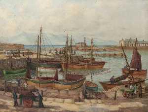 Salzmäntel Hafen