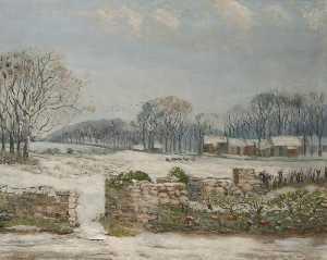 winter-bauernhof Bühne